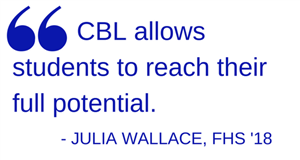 CBL allows students to reach their full potential.