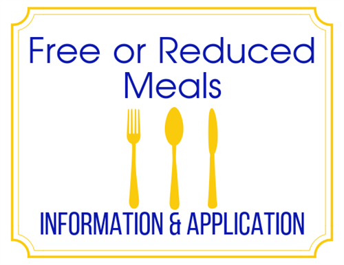 Free or Reduced Meals Info and Application