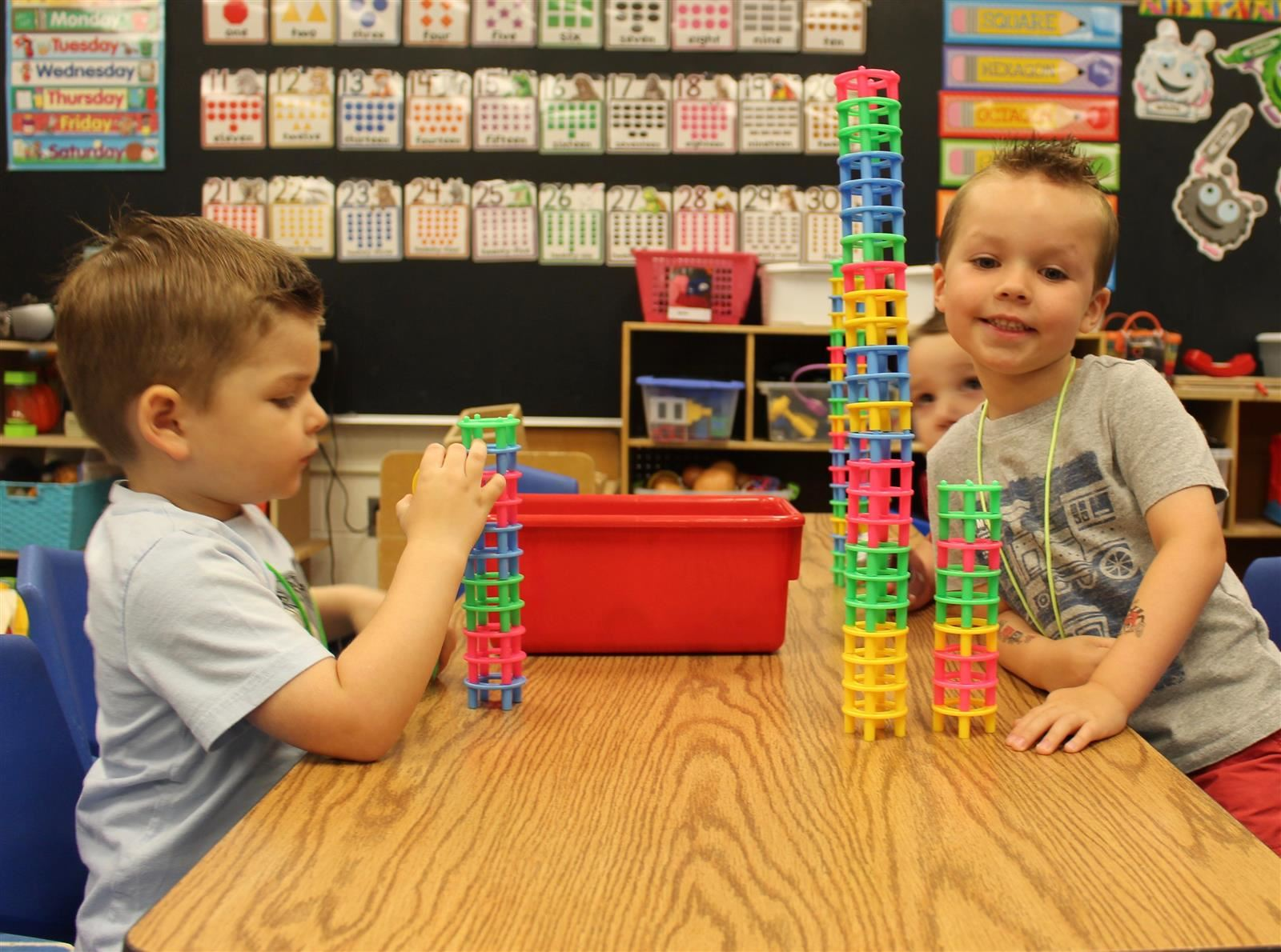 building towers at Dooley